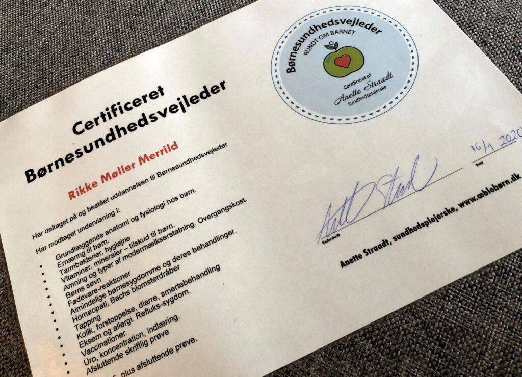 Certificeret Børnesundhedsvejleder